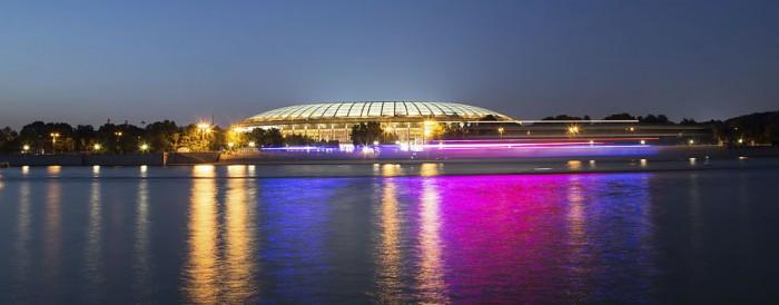 Moskau Fußballstadion zur WM 2018