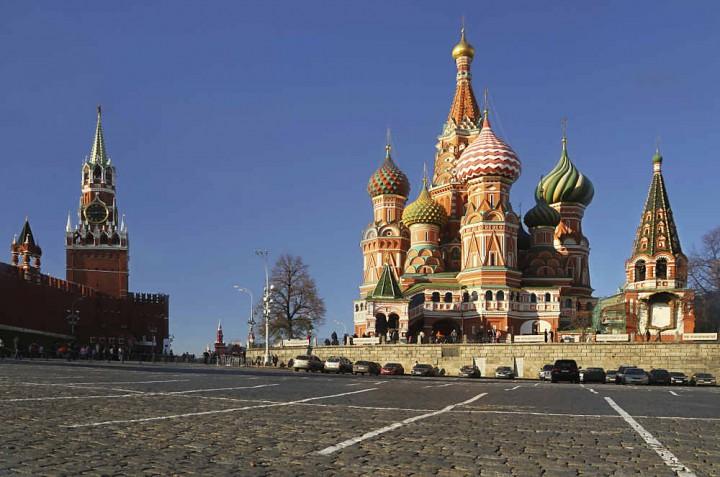 Russland - Moskau zur WM 2018