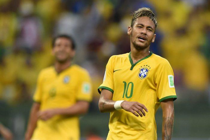 Der Brasilianer Neymar im Auftaktspiel der WM 2014 im eigenen Land. AFP PHOTO / FABRICE COFFRINI