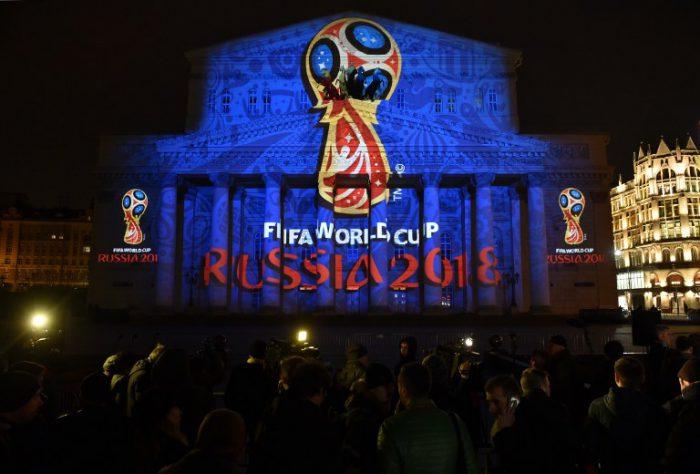 Die WM 2018 Qualifikation ist im vollen Gange - Russland freut sich auf jeden Fall auf die Weltmeisterschaft 2018. AFP PHOTO/KIRILL KUDRYAVTSEV
