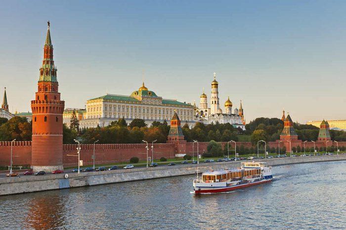 Der Moskauer Kreml - hier findet am 01.Dezmeber 2017 die WM-Auslosung statt.