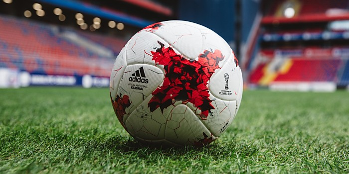clearance sale special sales presenting Confed-Cup Spielball: Krasava - Fussball Weltmeisterschaft 2018